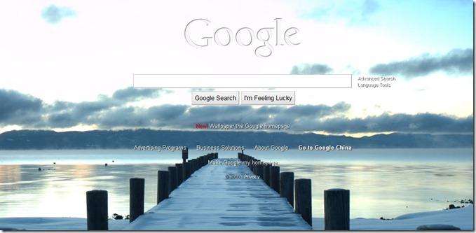 Google自定义背景搜索引擎