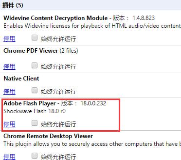 Chrome浏览器怎样停用Flash