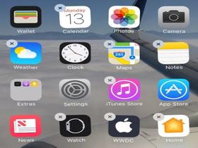 iOS 10支持删除系统自带应用