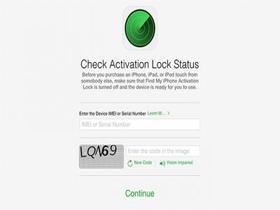 苹果移除iCloud激活锁状态查询工具页面
