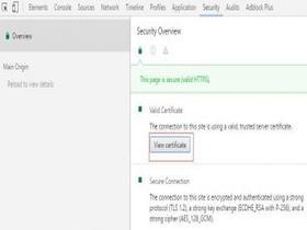 Chrome浏览器查看SSL证书信息