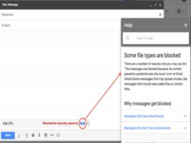 Gmail即将阻止JavaScript附件