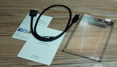 ORICO全透明2139U3移动硬盘盒产品评测