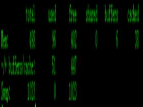 linux系统查看内存使用即剩余情况