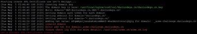 LNMP申请泛域名SSL证书失败:Error add txt for domain:_acme-challenge